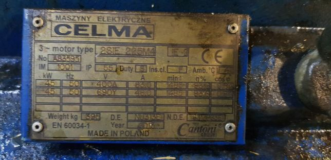 Silnik Elektryczny 45kW
