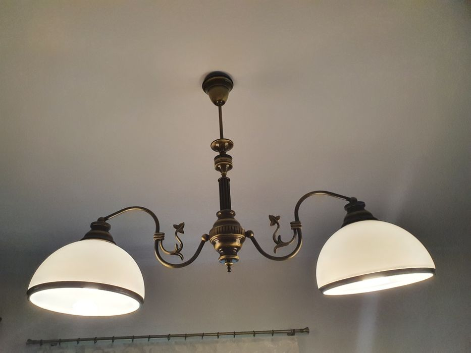 Lampa z mosiądzu Kostrzyn nad Odrą - image 1
