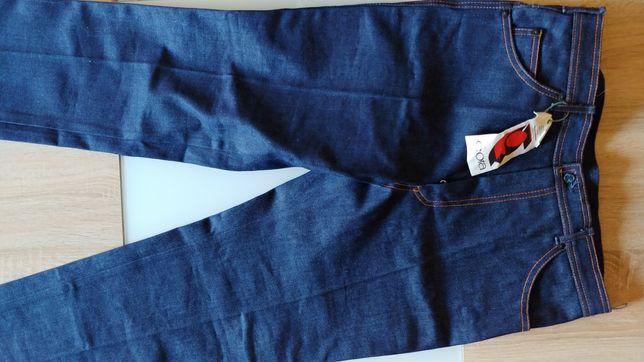 "Nove Oryginalne Oldscoolowe jeansy.""2"". 1987r. Okazja. !"