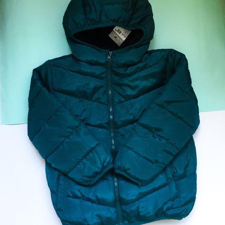 Деми курточка на мальчика 6-7 лет демисезонная куртка весна