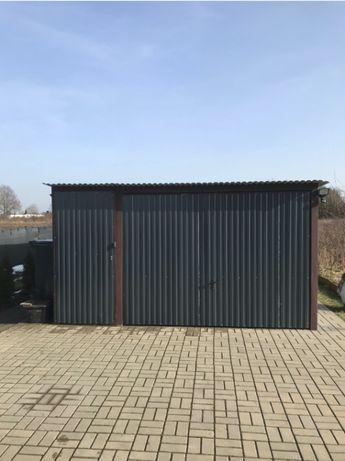 Garaż Blaszany -- 20 m2