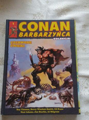 Marvel Conan Barbarzyńca tom 1 Czerwone Ćwieki Kolekcja Hachette
