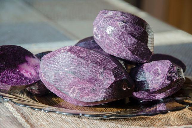 Фиолетовый картофель (синий картофель)