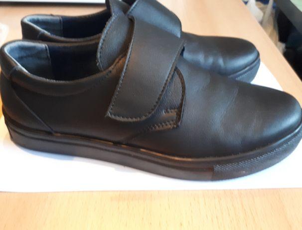 Туфли кроссовки из натуральной кожи
