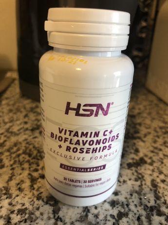 Vitamina C + Bioflavenoides e Rose hips