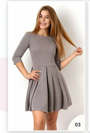 Брендовые подростковые платья