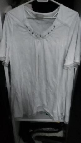 Bluzka biala