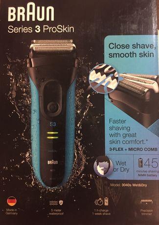 Maquina de barbear. Braun