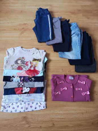 Zestaw ubrań jesienno/zimowydla dziewczynki roz 110