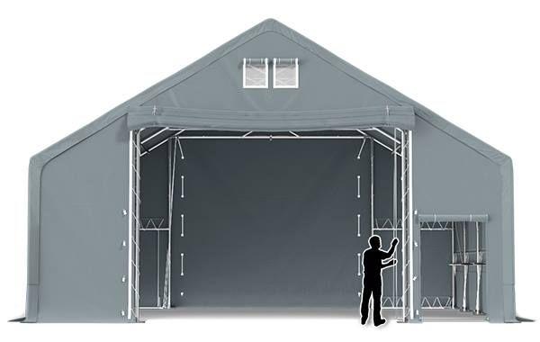 -34% HALA NAMIOTOWA 10x24 5,70 rolnicza namiot magazynowy garaż MTB