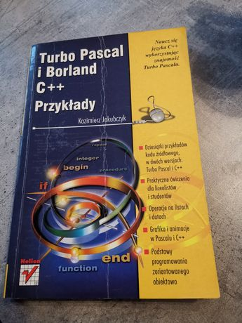 Turbo Pascal i Borland c++