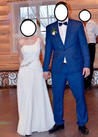 Lekka i wygodna suknia ślubna roz.34-36