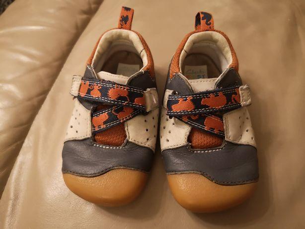Clarks buty First Shoes rozm 21 buciki skórzane