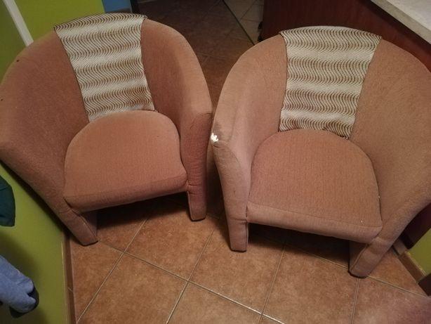 2 fotele za 20 złotych
