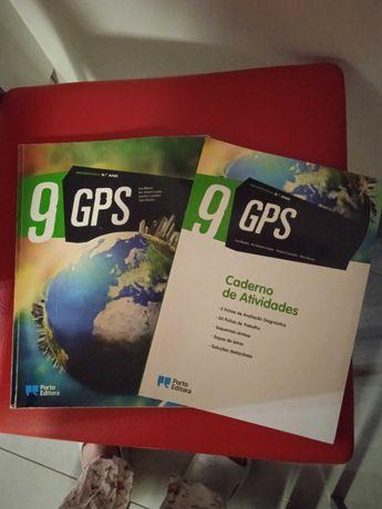 Geografia- GPS_ : Manual + caderno de atividades. -9º ano