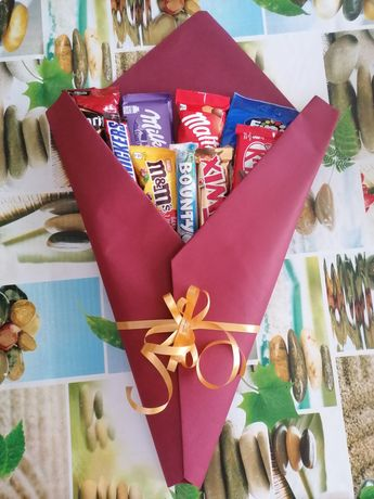 Bouquet de chocolates personalizado