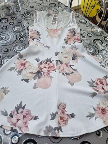 Платье летнее,с сеточкою.