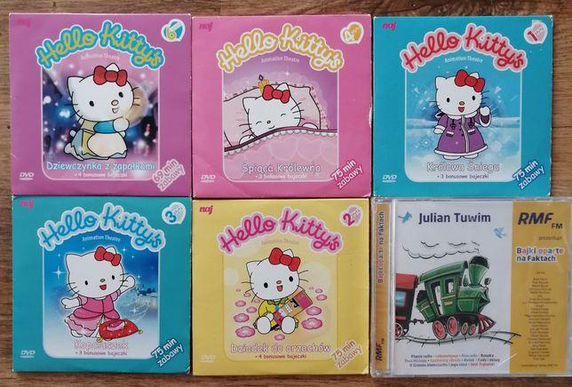 Hello Kitty 5 płyt z bajkami + Julian Tuwim bajki
