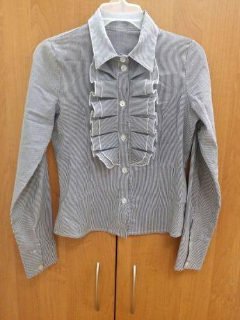 Школьная блузка в полоску 11лет