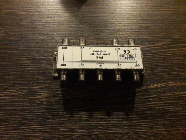 Rozdzielacz TV antenowy SPLITER  (1/8 F)