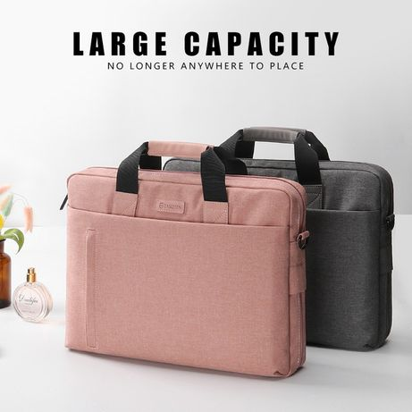 Damska, różowa torba na laptopa. *wysyłka gratis*