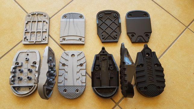 Piętki fleki podeszwy do butów narciarskich Nordica Tecnica sole parts