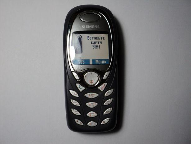 Продам моб. телефон SIEMENS А-60 б/у в отличном состоянии.