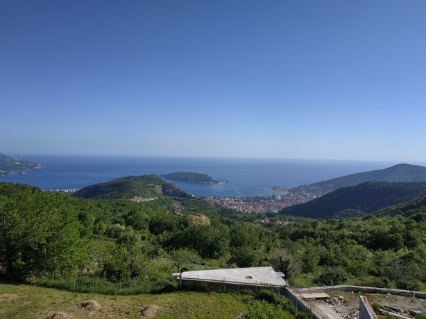 Черногория Будва, поселок Лапчичи, дом с видом