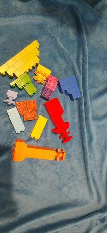 Zestaw kreatywny lego duplo 50 elementów