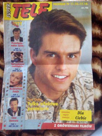 Gazeta stary program TV z 1996 roku