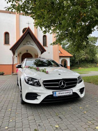 Samochód do ślubu, auto do ślubu,Mercedes benz E klasa w213 AMG