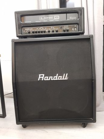 BLACK WEEKEND!!! Line 6 valve HD100+Footswitch FBV2+Randall4x12'