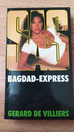 """Bagdad Express"" Gerard De Villiers książka"