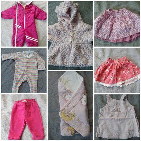 Zestaw paka ubrań dla noworodka rozm. 56 62