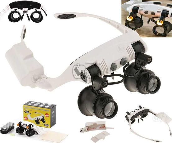 Лупа очки ювелира MG 32225-21SX (бинокулярная лупа)