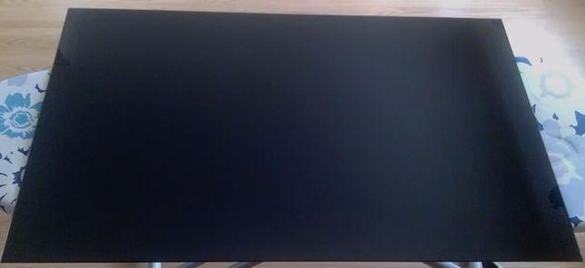 Tampo em vidro pintado preto