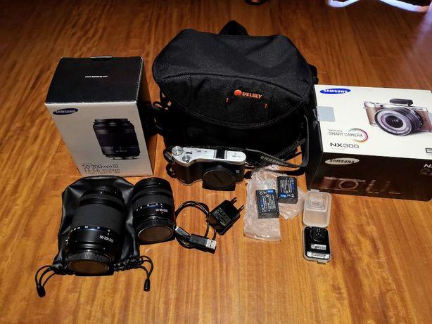 Máquina fotográfica Samsung NX300