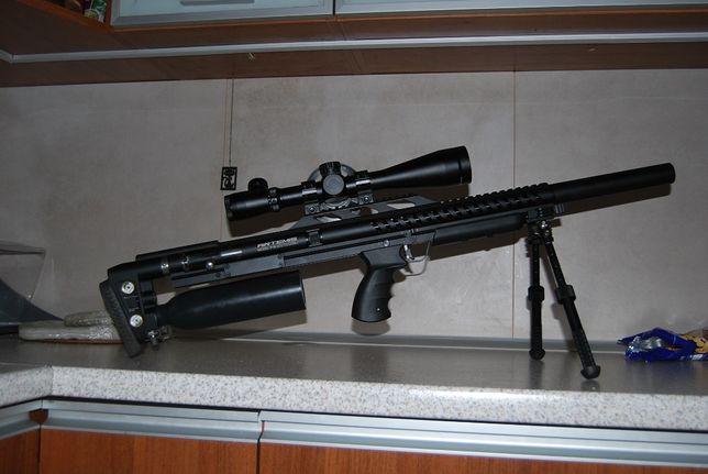 artemis p18 5,5 pcp gunpower luneta bipod