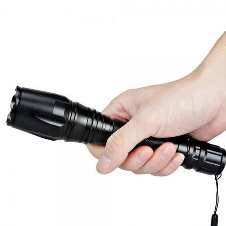 Фонарик мощный 2 аккумулятора Police MCE T6, ручной тактический фонарь