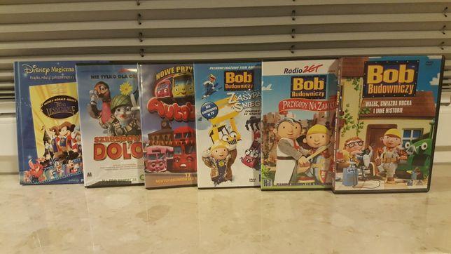 Bajki filmy Disney DVD Bob Budowniczy Trzej muszkieterowie