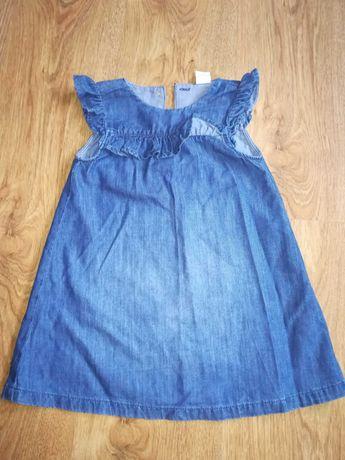 Sukienka dziewczęca H&M rozm 92