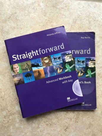 Straightforward advanced student's book + workbook +cd