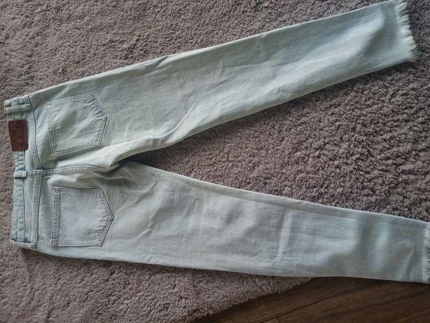 Spodnie jeans zara