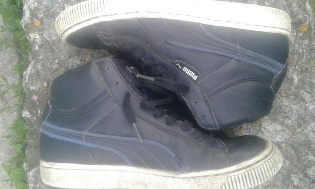 Ботинки кроссовки  Puma утепленные для мальчика