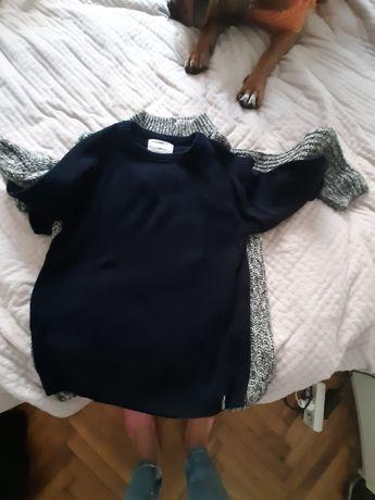 Zara nowy  granatowy sweter dla chłopca 8 lat