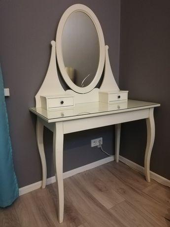 Toaletka hemnes Ikea biała do makijażu