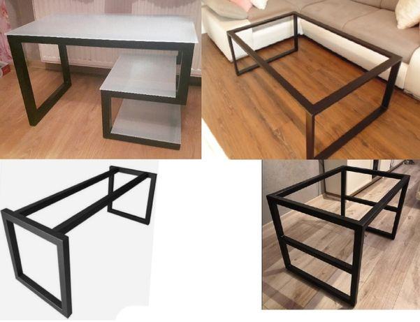 Metalowy stelaż pod stolik, ławę, stół kuchenny, biurko itp.