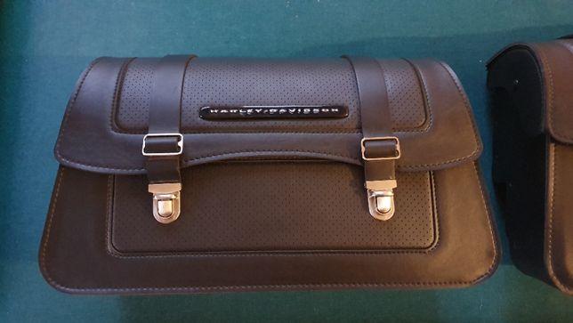 Harley Davidson Softail kufry boczne OEM