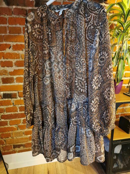 H&M sukienka boho s Gizałki - image 1