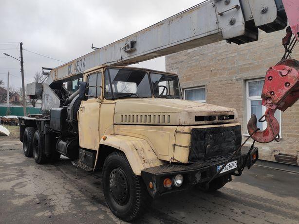 Автокран КрАЗ 250 КС4574